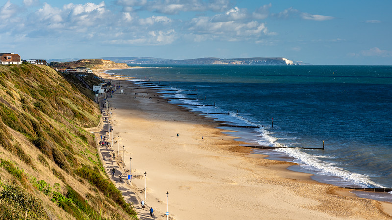 Southbourne Beach in Bournemouth