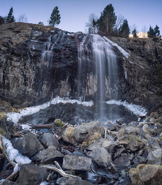 Lundy Canyon Waterfall