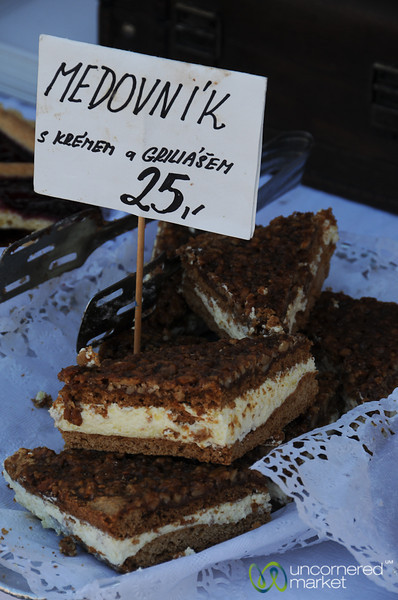 Medovnik - Famous Czech Dessert
