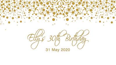 30.05 Elly's 30th Birthday