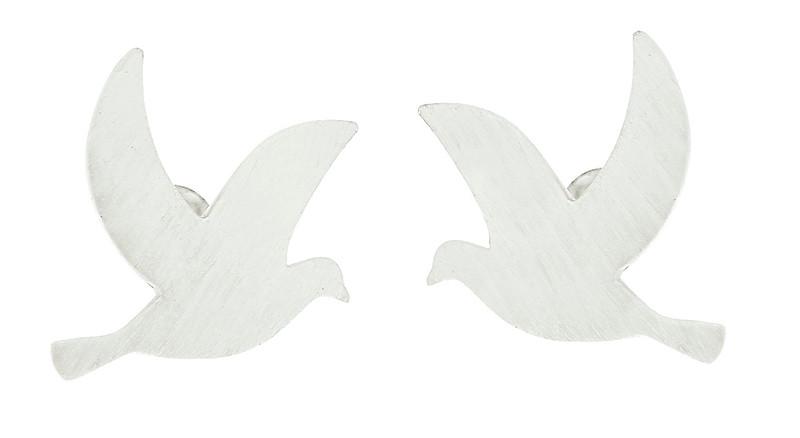 Peace ear silver