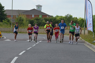 Lordshill 10k - 30th June 2013