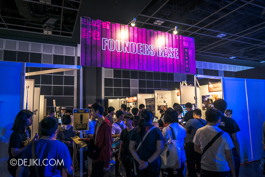 GameStart Asia 2017 Singapore gaming convention - Founders Base