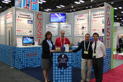 CAST Booth Details, 50th DAC