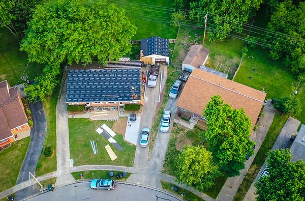 Duplex Roof Install