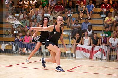 2011-07-22 4th Round: Emily Whitlock (England) and Megan Craig (New Zealand)