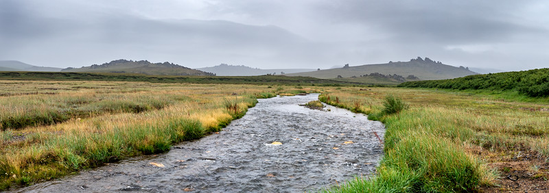 RIver in the tundra