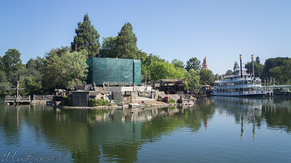 Disneyland Resort, Disneyland, Frontierland, Sailing Ship Columbia, Sail