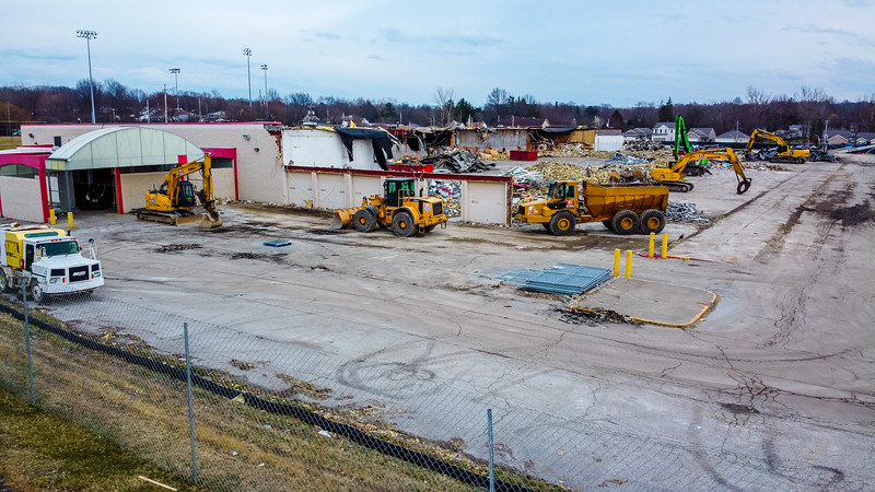 Seven Hills Kmart Demolition - Drone
