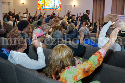 Pre-Pentecost Service at SSP  4-17-16
