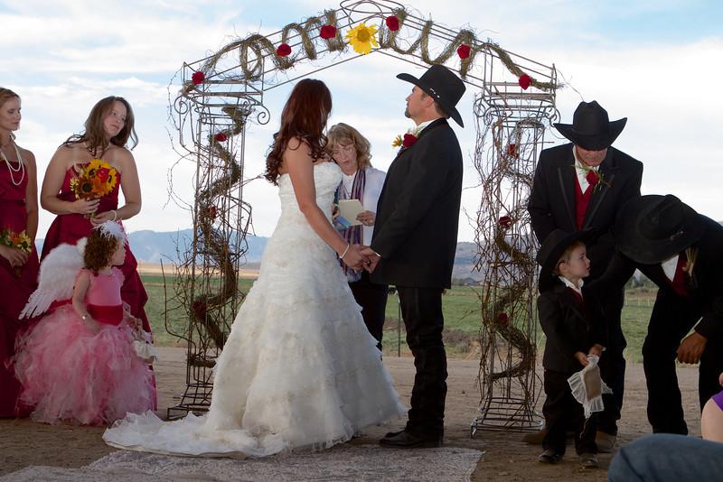 Nevada Ranch Wedding