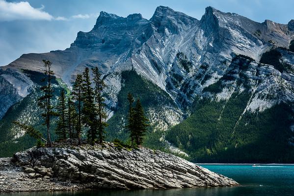 British Columbia and Alberta
