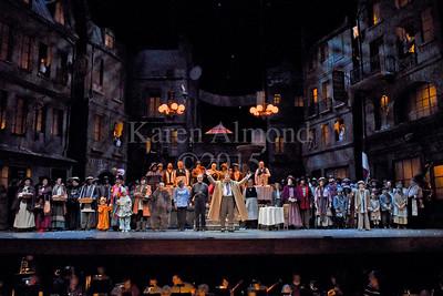 Dallas Opera La Boheme Chorus gallery