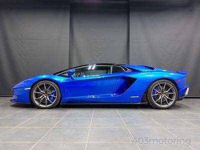 '18 Aventador S Roadster - Blu Nethuns