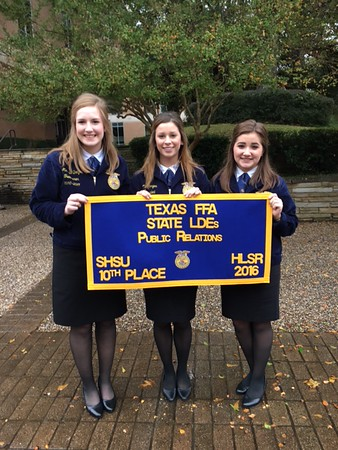 Howe FFA at State, 12/3/2016