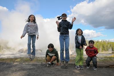 2009.8 GrandTetons/Yellowstone family trip