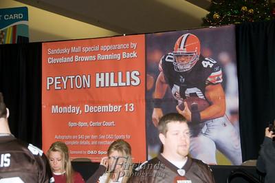 Peyton Hillis @ Sandusky Mall