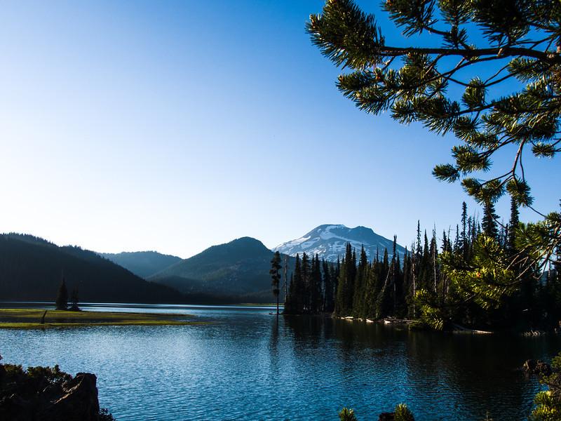 Spark Lake and South Sister