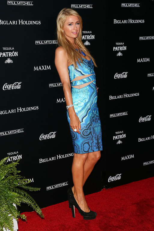 . Paris Hilton attends Maxim Hot 100 Event at the Pacific Design Center on June 10, 2014 in West Hollywood, California.  (Photo by Frederick M. Brown/Getty Images)