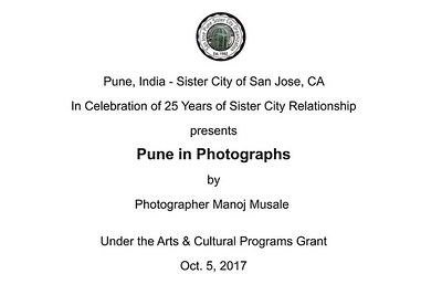 Oct. 5-2017 - Pune - Sister City of San Jose