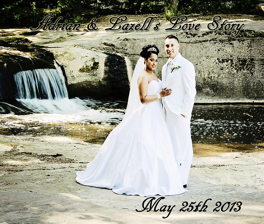 Lazell & Adrian 13x11 Wedding Album