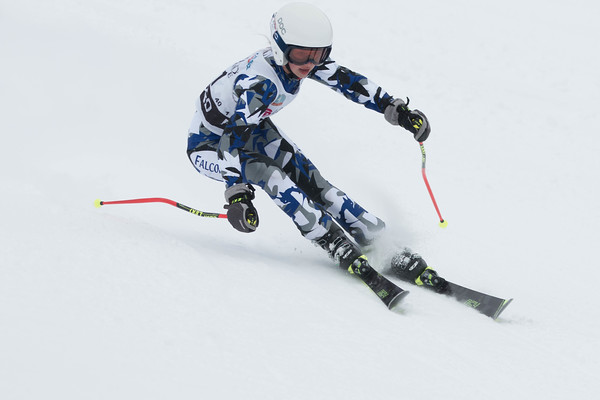 Girls Giant Slalom 1st Run