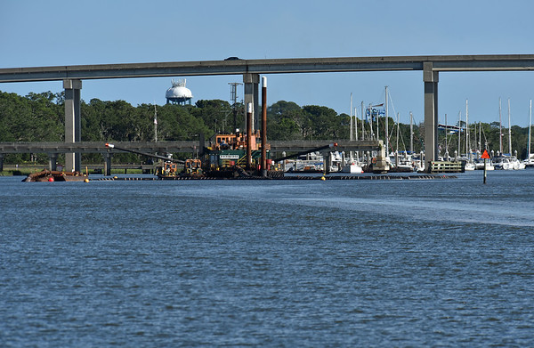Jekyll Creek Dredging Almost Finished 06-16-19