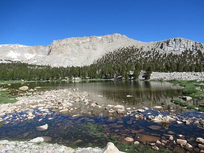 Sierra -- South Fork Lakes in Cottonwood Creek Basin  7-19