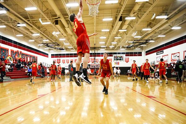Seton Basketball vs Desert Ridge (Williams Field Tournament)