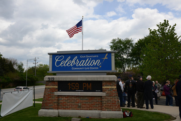 Dee Lindberg Flag Dedication - 2014