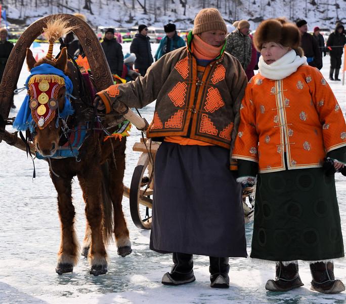 Mongolia - Lake Khovsgol Ice Festival 2013