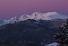 Alpenglow over the Northern Sawatch Range, CO