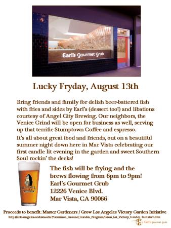08.13.10  Earl's Gourmet Grub - Lucky Fryday