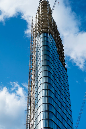 New development on City Road, London, United Kingdom