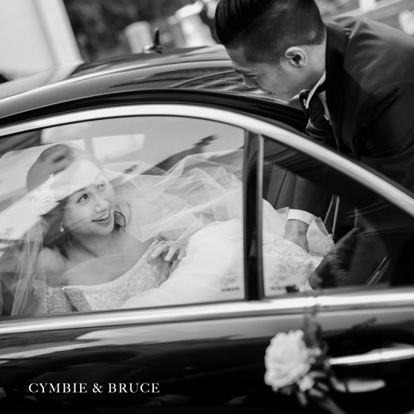 Wedding Day - Cymbie and Bruce ( immaculate conception and K11 Hyatt)