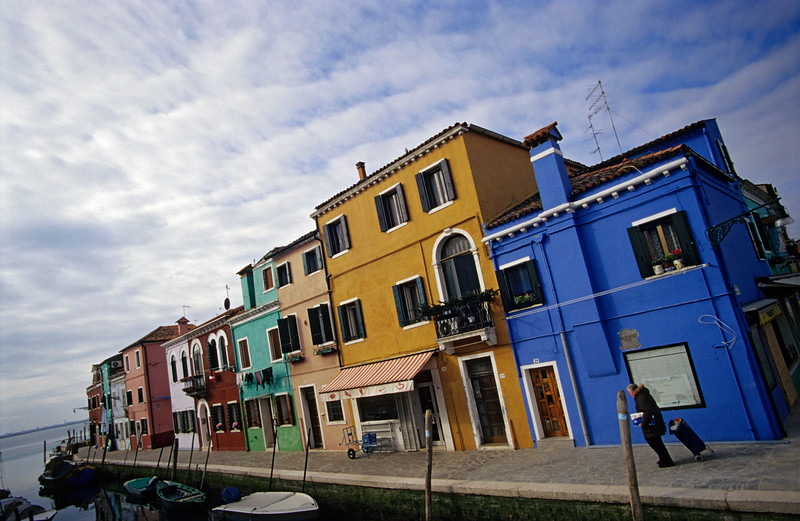 Colourful Houses, Burano, Venice (Italy)