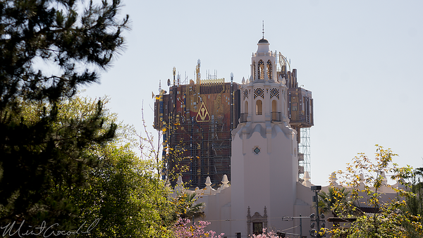 Disneyland Resort, Disney California Adventure, Grizzly Peak Airfield, Twilight Zone Tower Of Terror, Tower Of Terror, Tower, Terror, Guardians Of The Galaxy Mission Breakout, Guardians, Galaxy, Mission, Breakout
