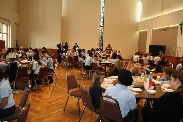 Kindergarten Soup Feast 11-24-08