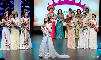 Miss and Mrs Vietnam USA 2017