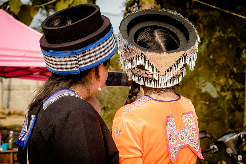 Hmong hill tribe New year celebrations in a small village, Chinag Rai, Thailand