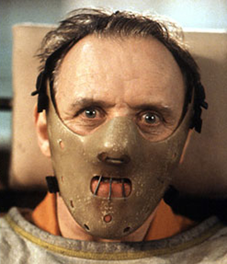 Description of . Anthony Hopkins played the iconic Hannibal Lecter in