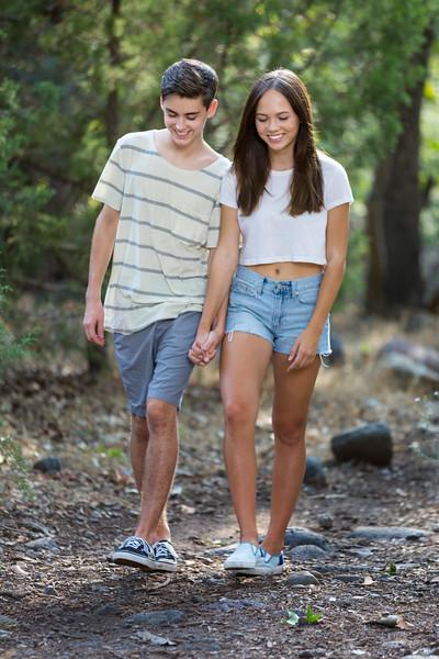 Brandon Lyscio and Estee Oglesbee