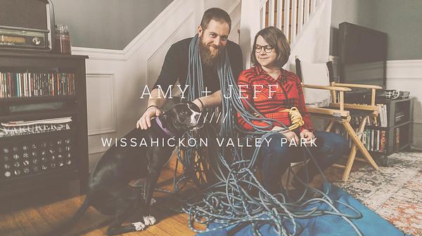 AMY + JEFF ////// WISSAHICKON VALLEY PARK