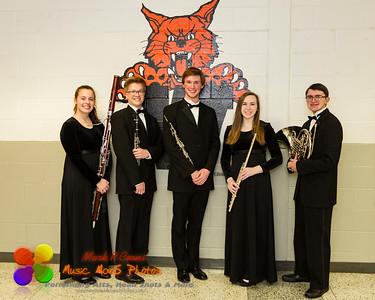 NCWHS Wind Ensemble & Wind Quintet