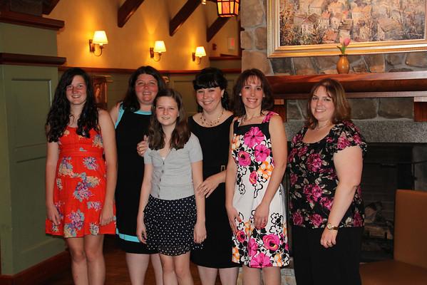 Betsy's Bridal Shower May 6, 2012