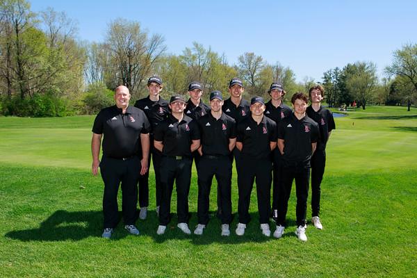 2021 LHS Golf Boys