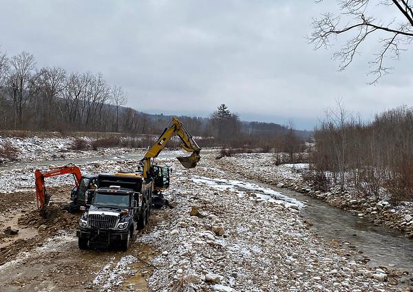 Walloomsac River digging - 011421