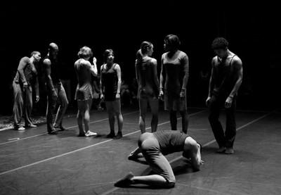 """Cedar Lake Dance Perform """"The Copier"""" (  B&W Images )"""