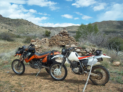 May 1st ride with Old Mines & Indian Ruins