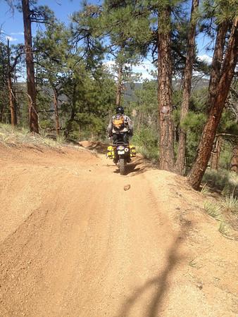 Riding with David around Front Range - 2013